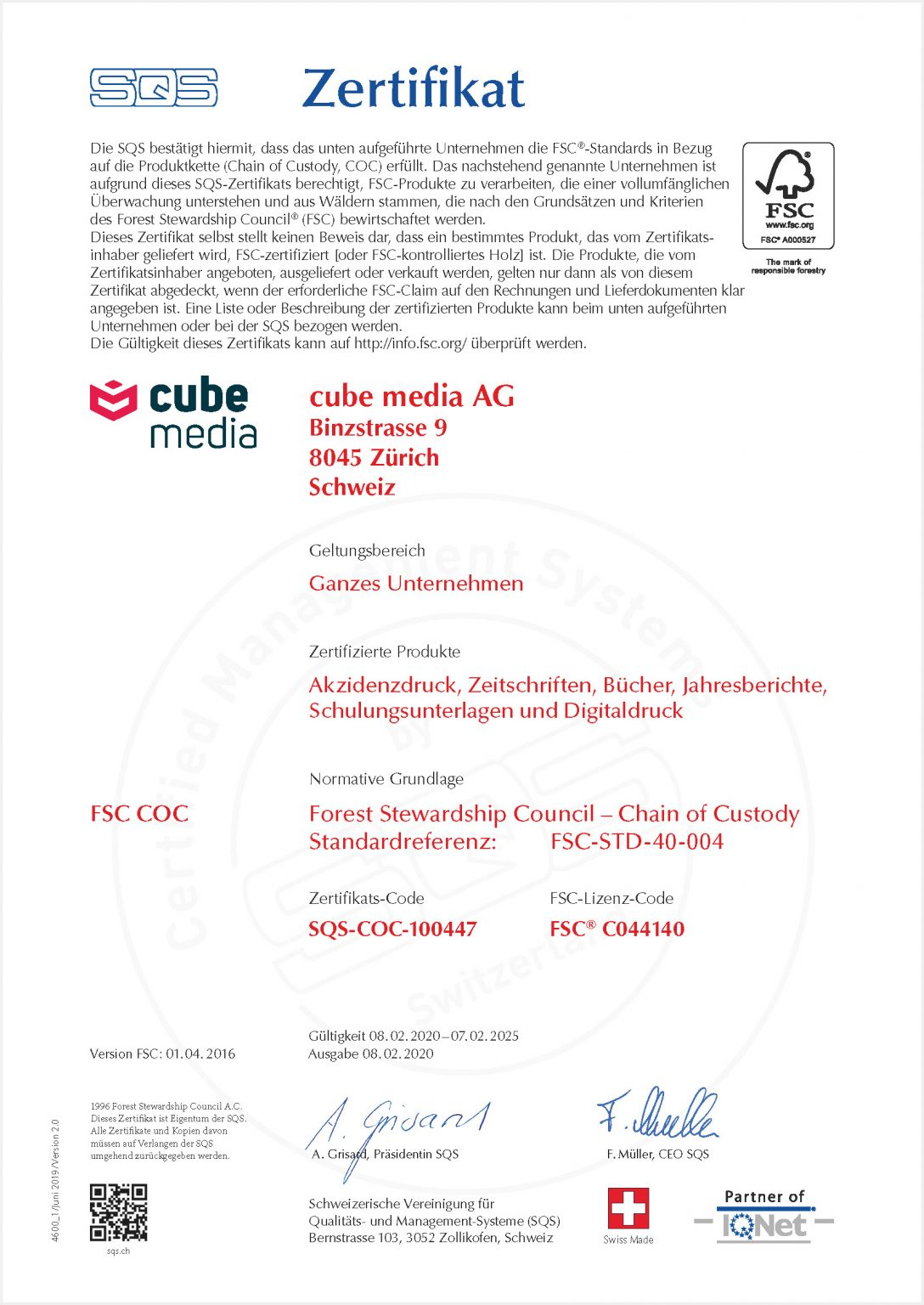 Nachhaltigkeit - cube media AG 6