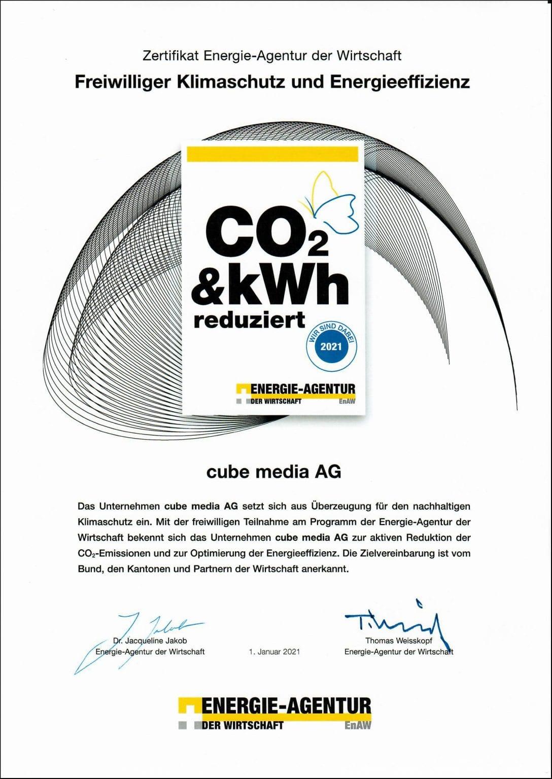 Nachhaltigkeit - cube media AG 4